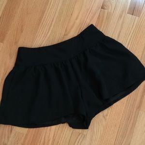 Express Dressy Skirted Shorts